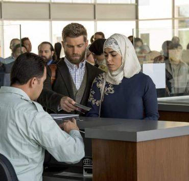 "THE BRAVE -- ""Desperate Times"" Episode 109 -- Pictured: (l-r) Mike Vogel as Captain Adam Dalton, Natacha Karam as Sergeant Jasmine ""Jaz"" Khan -- (Photo by: Lewis Jacobs/NBC)"