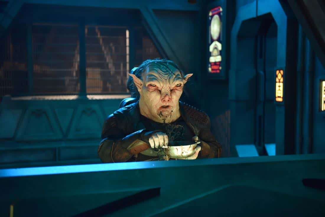 "THE ORVILLE:  Guest star Paul Vogt in the ""New Dimensions"" episode of THE ORVILLE airing Thursday, Nov. 30 (9:01-10:00 PM ET/PT) on FOX.  ©2017 Fox Broadcasting Co.  Cr:  Michael Becker/FOX"