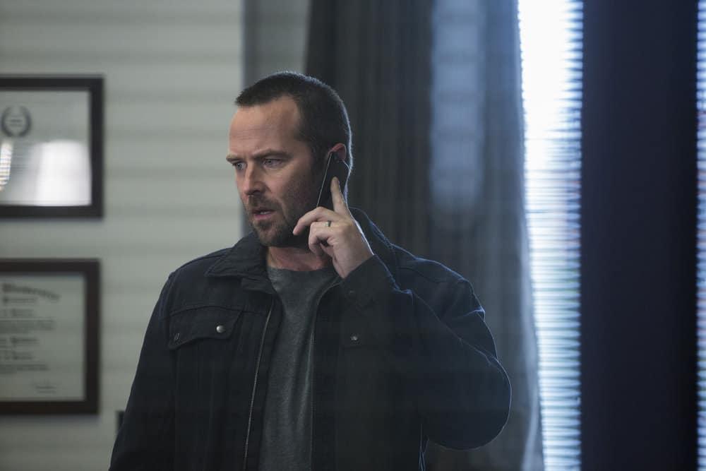 """BLINDSPOT -- """"Fix My Present Havoc"""" Episode 307 -- Pictured: Sullivan Stapleton as Kurt Weller -- (Photo by: Eric Liebowitz/NBC/WarnerBros)"""