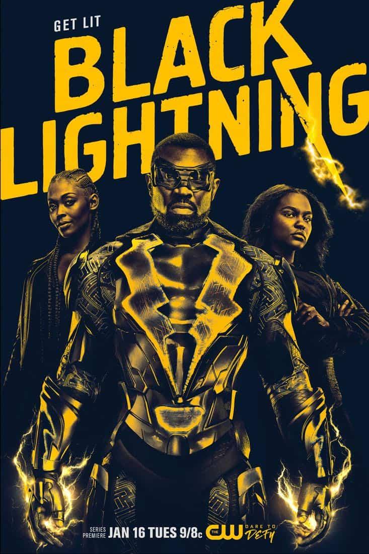 BLACK LIGHTNING Season 1 Poster Key Art