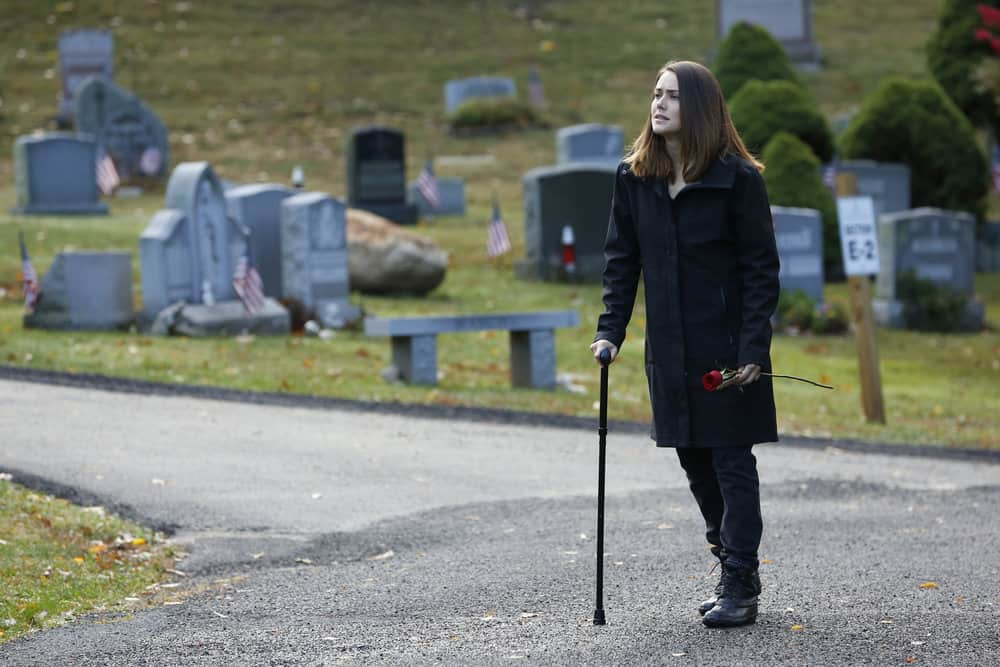 """THE BLACKLIST -- """"Ruin"""" Episode 509 -- Pictured: Megan Boone as Elizabeth Keen -- (Photo by: Will Hart/NBC)"""