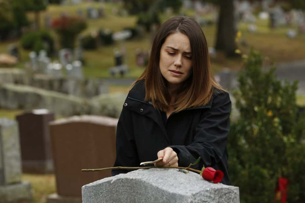 "THE BLACKLIST -- ""Ruin"" Episode 509 -- Pictured: Megan Boone as Elizabeth Keen -- (Photo by: Will Hart/NBC)"