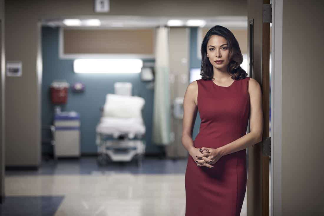 THE RESIDENT: Moran Atias as Renata Morali in THE RESIDENT premiering Sunday, Jan. 21 (10:00-11:00 PM ET/7:00-8:00 PM PT), following the NFC CHAMPIONSHIP GAME, and makes its time period premiere on Monday, Jan. 22 (9:00-10:00 PM ET/PT).on FOX. ©2017 Fox Broadcasting Co. Cr: Justin Stephens/FOX