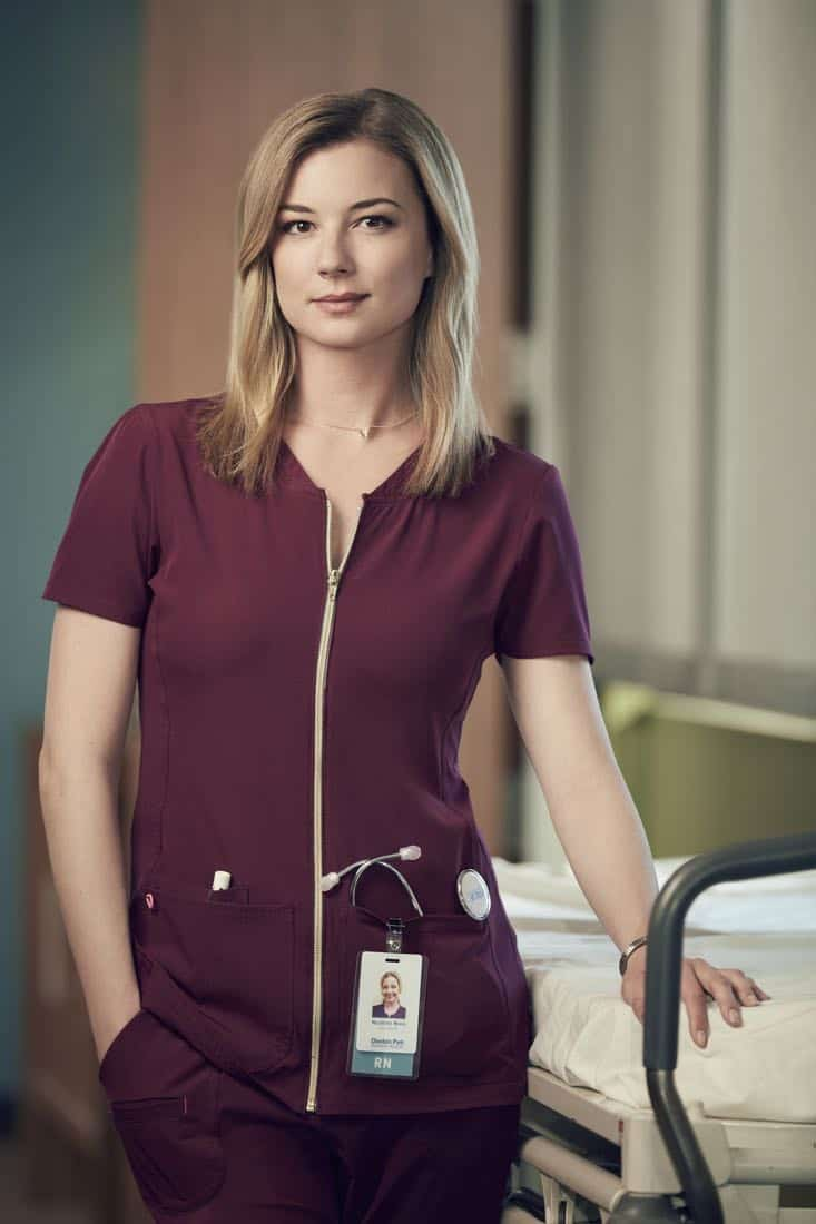 THE RESIDENT: Emily VanCamp as Nicolette Nevin in THE RESIDENT premiering Sunday, Jan. 21 (10:00-11:00 PM ET/7:00-8:00 PM PT), following the NFC CHAMPIONSHIP GAME, and makes its time period premiere on Monday, Jan. 22 (9:00-10:00 PM ET/PT).on FOX. ©2017 Fox Broadcasting Co. Cr: David Johnson/FOX
