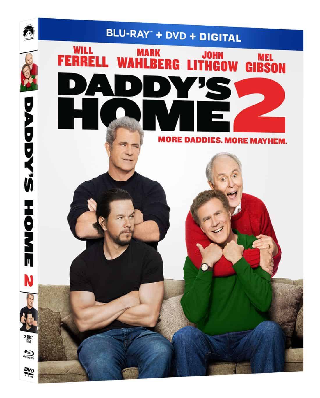 Daddys Home 2 Bluray