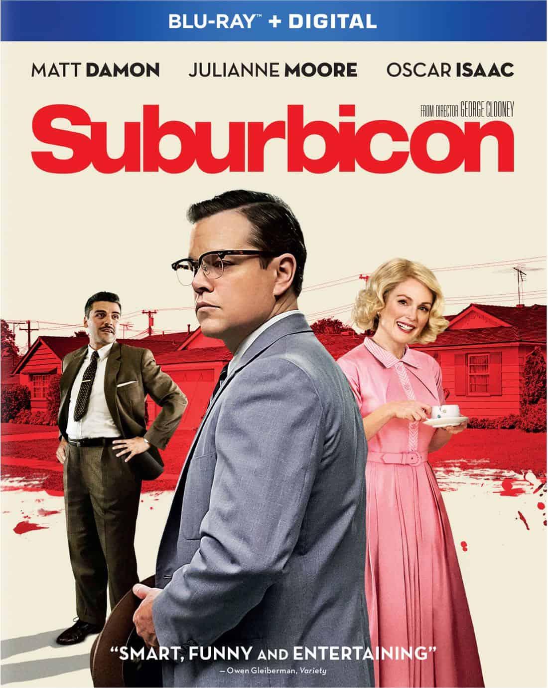 Suburbicon_Combo_Bluray DVD
