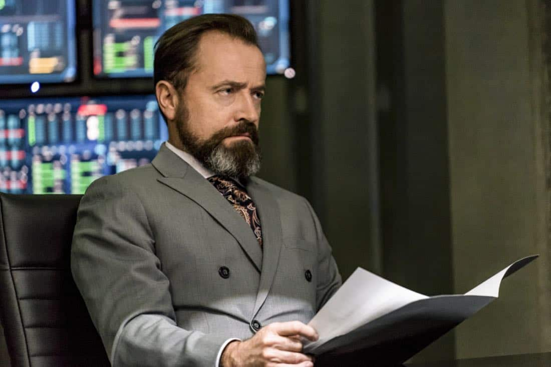"""Arrow -- """"Divided"""" -- Image Number: AR610a_0258.jpg -- Pictured: David Nykl as Anatoly Knyazev -- Photo: Daniel Power/The CW -- © 2018 The CW Network, LLC. All Rights Reserved."""
