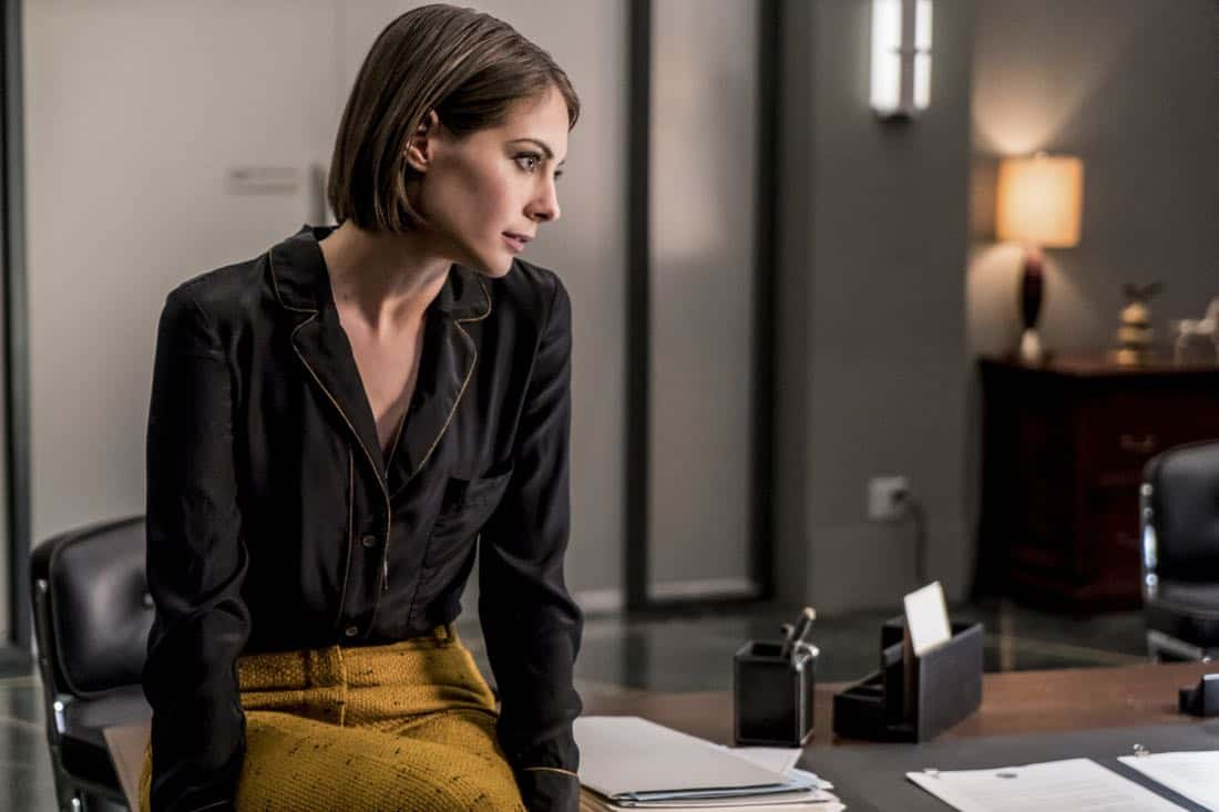 """Arrow -- """"Divided"""" -- Image Number: AR610b_0058.jpg -- Pictured: Willa Holland as Thea Queen/Speedy -- Photo: Daniel Power/The CW -- © 2018 The CW Network, LLC. All Rights Reserved."""