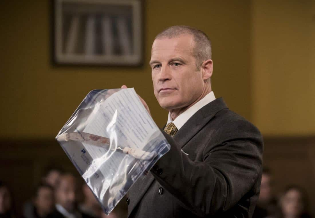 """The Flash -- """"The Trial of The Flash"""" -- Image Number: FLA410a_0016b.jpg -- Pictured: Mark Valley as Anton Slater -- Photo: Katie Yu/The CW -- © 2017 The CW Network, LLC. All rights reserved"""