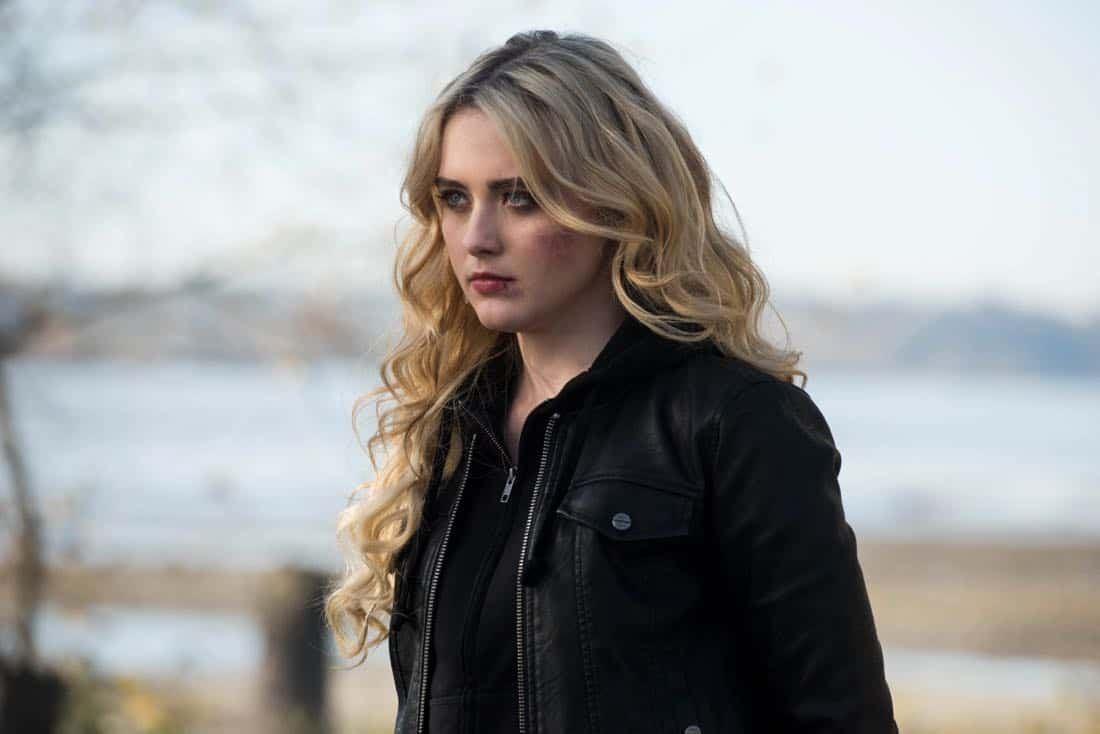 "Supernatural -- ""Wayward Sisters"" -- Image Number: SN1310c_0099.jpg -- Pictured: Kathryn Newton as Claire -- Photo: Dean Buscher/The CW -- © 2017 The CW Network, LLC All Rights Reserved"