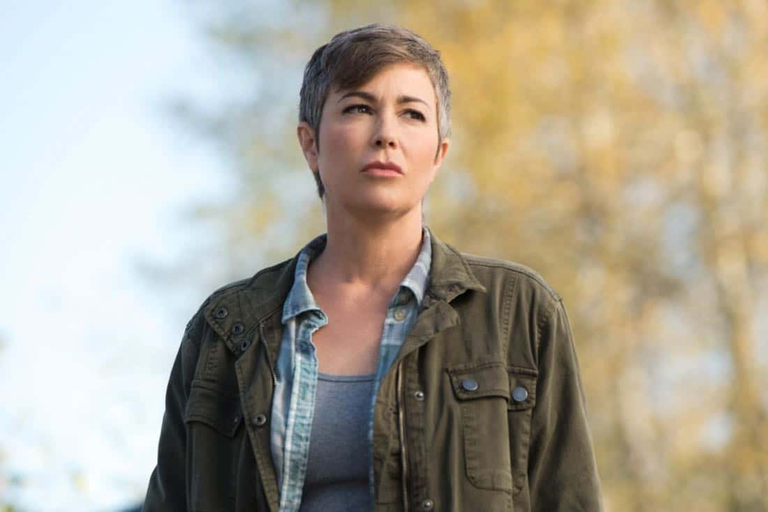 "Supernatural -- ""Wayward Sisters"" -- Image Number: SN1310c_0172.jpg -- Pictured: Kim Rhodes as Jody Mills -- Photo: Dean Buscher/The CW -- © 2017 The CW Network, LLC All Rights Reserved"