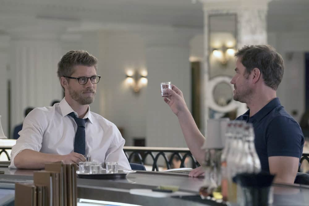 "BLINDSPOT -- ""Balance of Might"" Episode 310 -- Pictured: Luke Mitchell as Roman -- (Photo by: Barbara Nitke/NBC)"