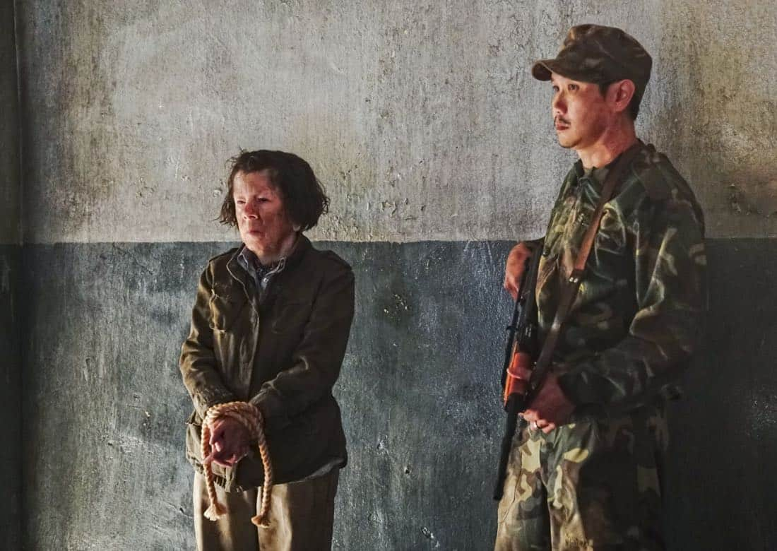 """""""Cac Tu Nhan"""" -- Pictured: Linda Hunt (Henrietta """"Hetty"""" Lange). While Hetty is being tortured by her captors in Vietnam, Eric and Nell find a clue to her whereabouts, prompting the team to organize a rescue mission with very little information, on NCIS: LOS ANGELES, Sunday, Jan. 14 (9:00-10:00 PM, ET/PT) on the CBS Television Network. Carl Lumbly guest stars as Charles Langston and John M. Jackson guest stars as A.J. Chegwidden. Photo: Bill Inoshita/CBS ©2017 CBS Broadcasting, Inc. All Rights Reserved."""