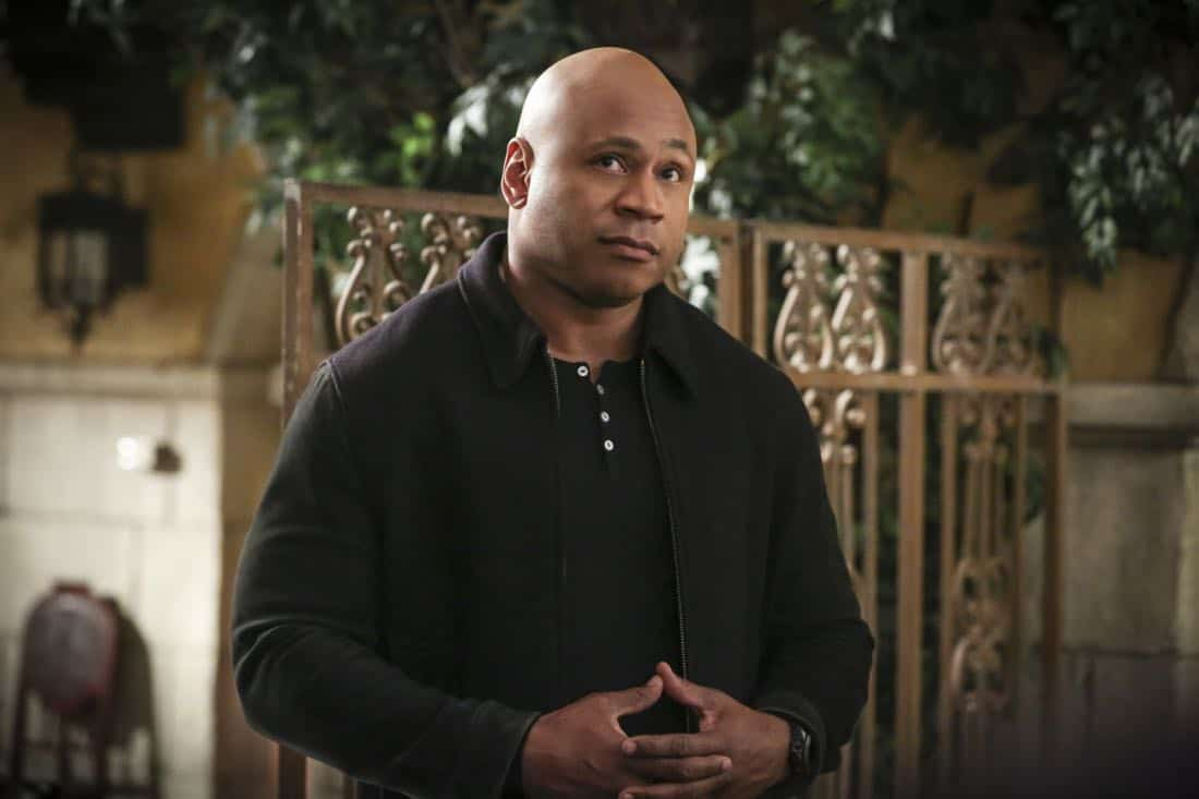 """""""Cac Tu Nhan"""" -- Pictured: LL COOL J (Special Agent Sam Hanna). While Hetty is being tortured by her captors in Vietnam, Eric and Nell find a clue to her whereabouts, prompting the team to organize a rescue mission with very little information, on NCIS: LOS ANGELES, Sunday, Jan. 14 (9:00-10:00 PM, ET/PT) on the CBS Television Network. Carl Lumbly guest stars as Charles Langston and John M. Jackson guest stars as A.J. Chegwidden. Photo: Michael Yarish/CBS ©2017 CBS Broadcasting, Inc. All Rights Reserved."""