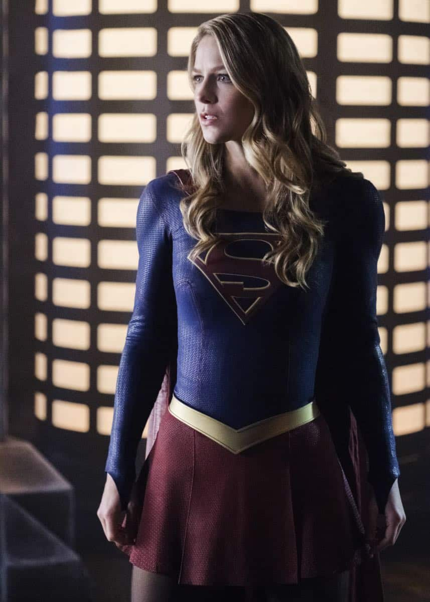 """Supergirl -- """"Fort Rozz"""" -- Image Number: SPG311b_0111.jpg -- Pictured: Melissa Benoist as Kara/Supergirl -- Photo: Michael Courtney/The CW -- © 2018 The CW Network, LLC. All rights reserved."""