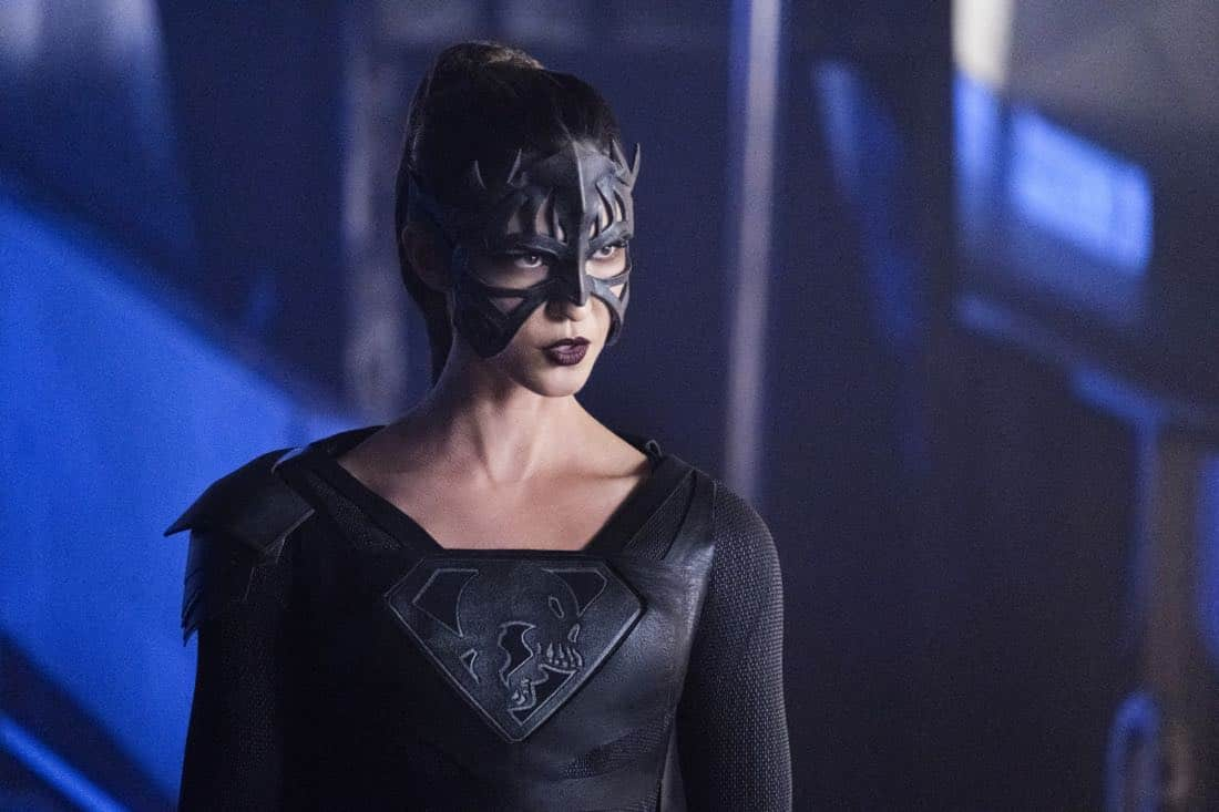 """Supergirl -- """"Fort Rozz"""" -- Image Number: SPG311b_0202.jpg -- Pictured: Odette Annable as Samantha Arias/Reign -- Photo: Michael Courtney/The CW -- © 2018 The CW Network, LLC. All rights reserved."""