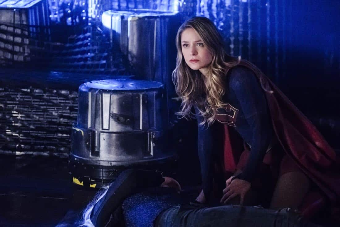 """Supergirl -- """"Fort Rozz"""" -- Image Number: SPG311b_0355.jpg -- Pictured: Melissa Benoist as Kara/ Supergirl -- Photo: Michael Courtney/The CW -- © 2018 The CW Network, LLC. All rights reserved."""