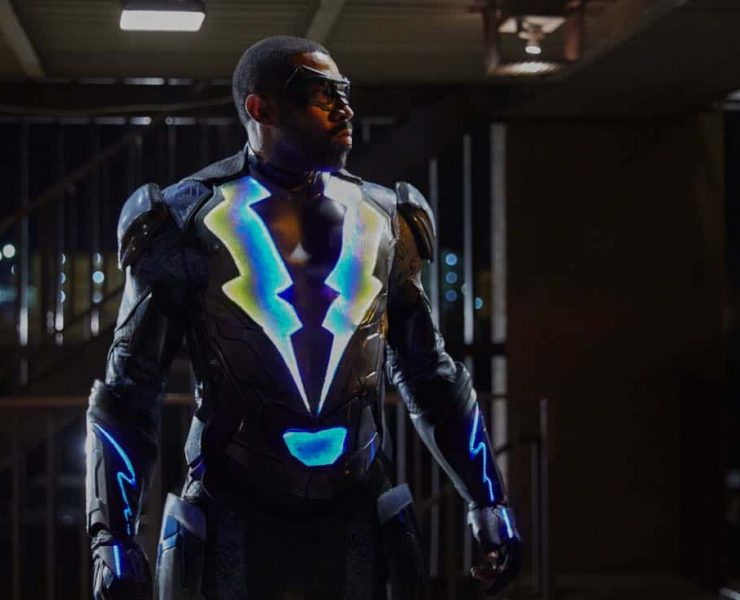 """Black Lightning -- """"The Resurrection"""" -- Image BLK101d_0100 -- Pictured: Cress Williams as Jefferson Pierce/Black Lightning -- Photo: Bob Mahoney/The CW -- © 2017 The CW Network, LLC. All rights reserved"""