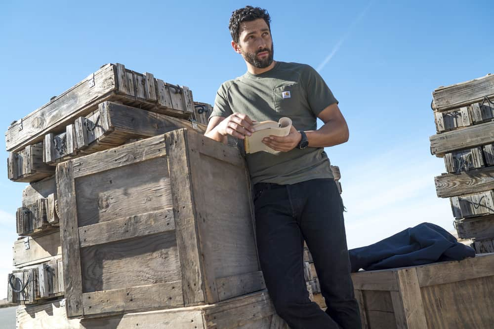 "THE BRAVE -- ""Close to Home, Part 1"" Episode 112 -- Pictured: Noah Mills as Sergeant Joseph ""McG"" McGuire -- (Photo by: Lewis Jacobs/NBC)"