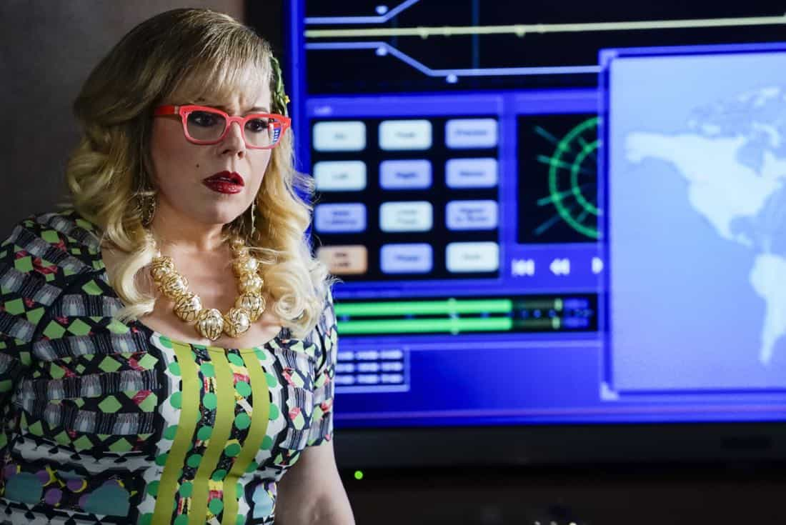 """Cure"" -- The BAU is called to investigate a series of D.C. homicides where cryptic messages are found inside the mouths of each victim, on CRIMINAL MINDS, Wednesday, Jan. 24 (10:00-11:00 PM, ET/PT) on the CBS Television Network.  Pictured: Kirsten Vangsness (Penelope Garcia)   Photo: Cliff Lipson/CBS ©2017 CBS Broadcasting, Inc. All Rights Reserved"
