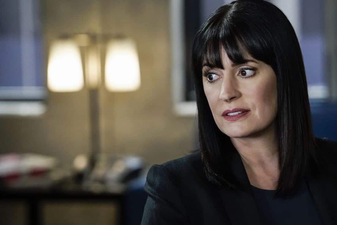 """Cure"" -- The BAU is called to investigate a series of D.C. homicides where cryptic messages are found inside the mouths of each victim, on CRIMINAL MINDS, Wednesday, Jan. 24 (10:00-11:00 PM, ET/PT) on the CBS Television Network.  Pictured: Paget Brewster (Emily Prentiss)   Photo: Cliff Lipson/CBS ©2017 CBS Broadcasting, Inc. All Rights Reserved"