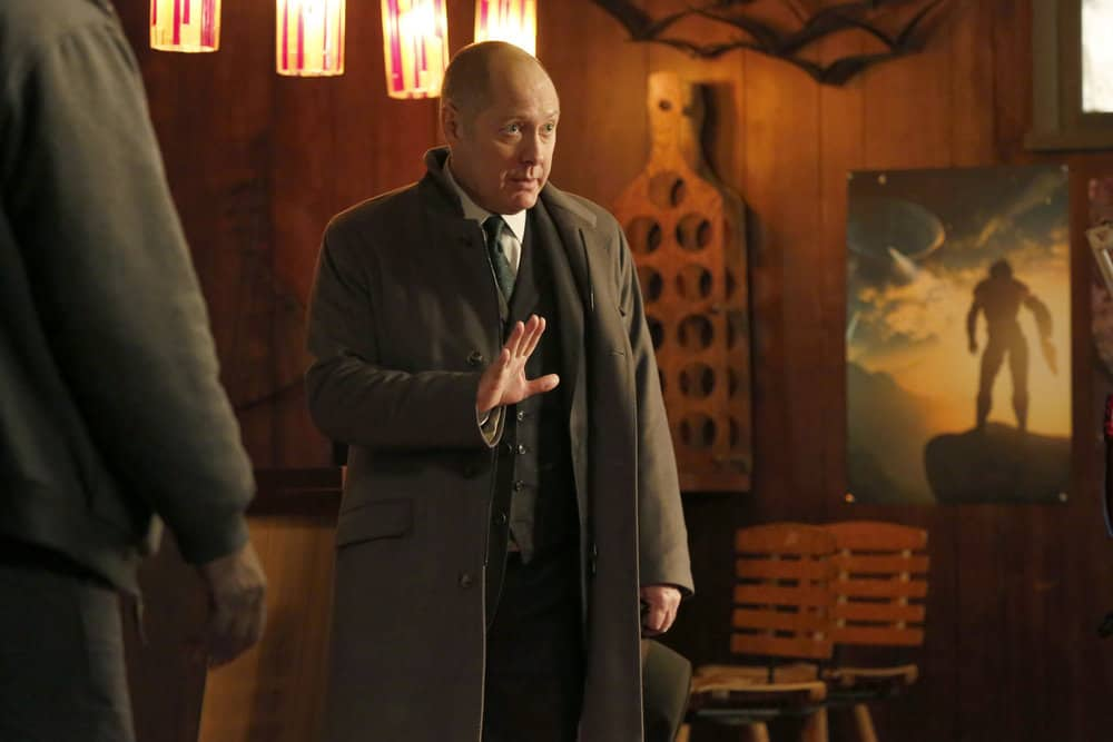 """THE BLACKLIST -- """"Tommy Wattles (#56)"""" Episode 512 -- Pictured: James Spader as Raymond """"Red"""" Reddington -- (Photo by: Will Hart/NBC)"""