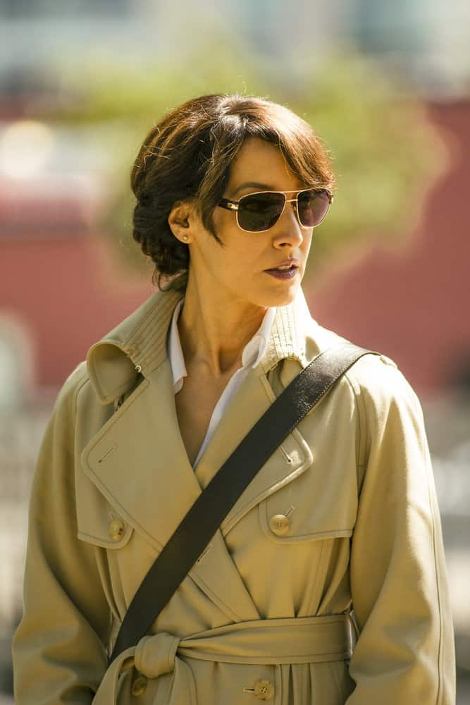 "TAKEN -- ""Quarry"" Episode 202 -- Pictured: Jennifer Beals as Christina Hart -- (Photo by Jan Thijs/NBC)"