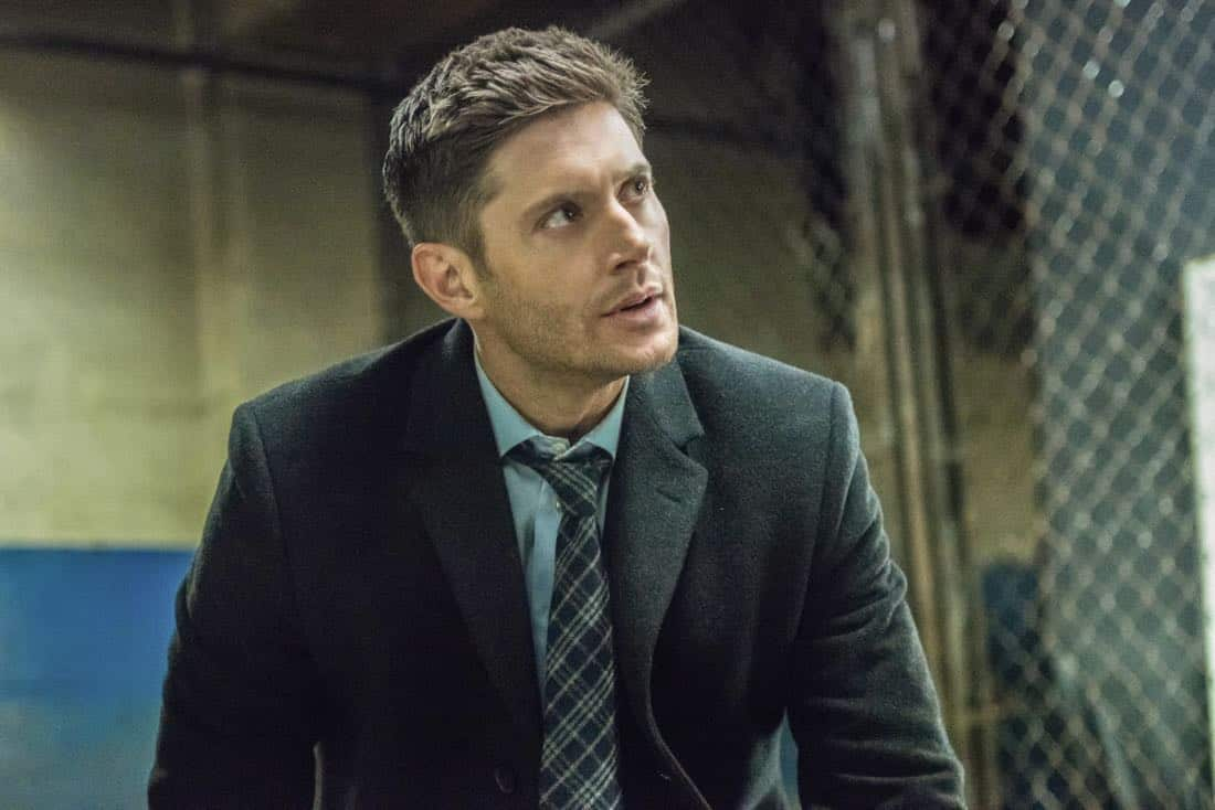 """Supernatural -- """"Breakdown"""" -- Image Number: SN1311b_0094b.jpg -- Pictured: Jensen Ackles as Dean -- Photo: Dean Buscher/The CW -- © 2018 The CW Network, LLC All Rights Reserved"""