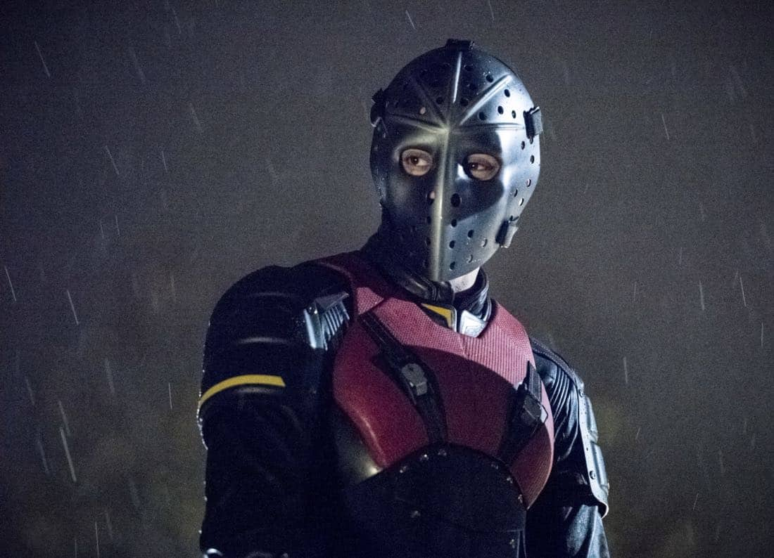 "Arrow -- ""We Fall"" -- Image Number: AR611a_0253.jpg -- Pictured: Rick Gonzalez as Rene Ramirez/Wild Dog -- Photo: Dean Buscher/The CW -- © 2018 The CW Network, LLC. All Rights Reserved."