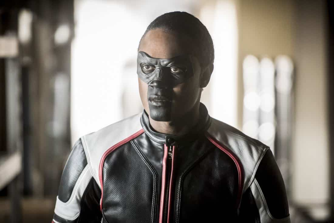 "Arrow -- ""We Fall"" -- Image Number: AR611a_0007.jpg -- Pictured: Echo Kellum as Curtis Holt/Mr. Terrific -- Photo: Dean Buscher/The CW -- © 2018 The CW Network, LLC. All Rights Reserved."