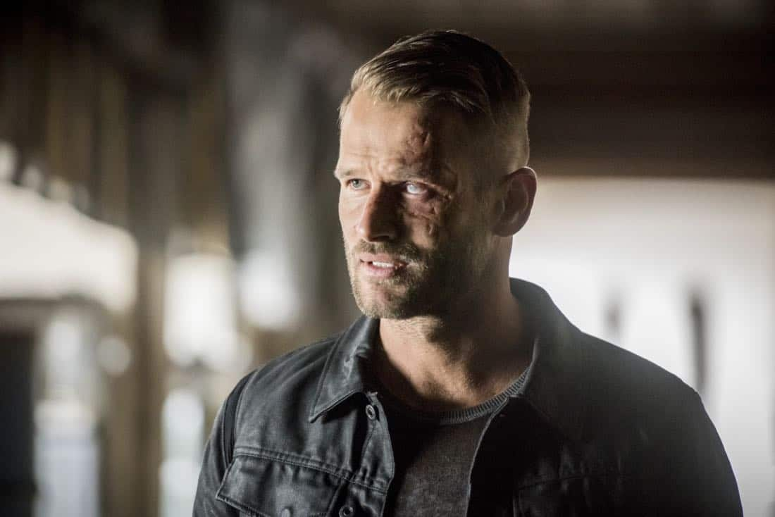 "Arrow -- ""We Fall"" -- Image Number: AR611a_0086.jpg -- Pictured: Johann Urb as Sonny Pederson -- Photo: Dean Buscher/The CW -- © 2018 The CW Network, LLC. All Rights Reserved."