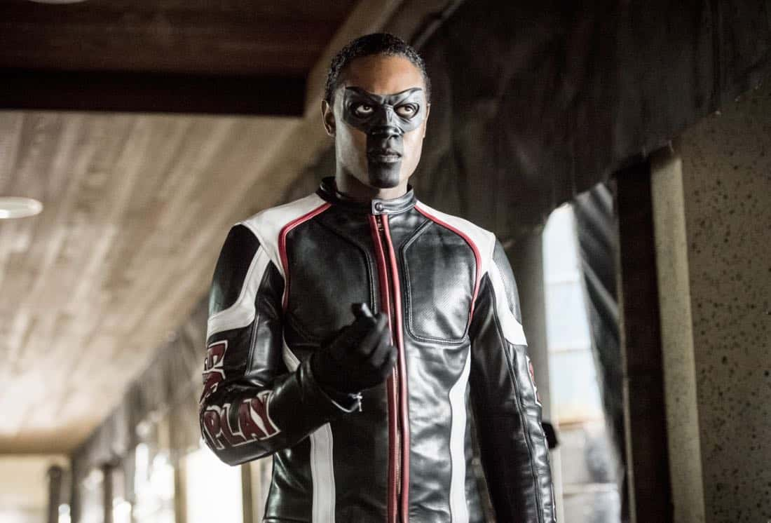 "Arrow -- ""We Fall"" -- Image Number: AR611a_0142.jpg -- Pictured: Echo Kellum as Curtis Holt/Mr. Terrific -- Photo: Dean Buscher/The CW -- © 2018 The CW Network, LLC. All Rights Reserved."
