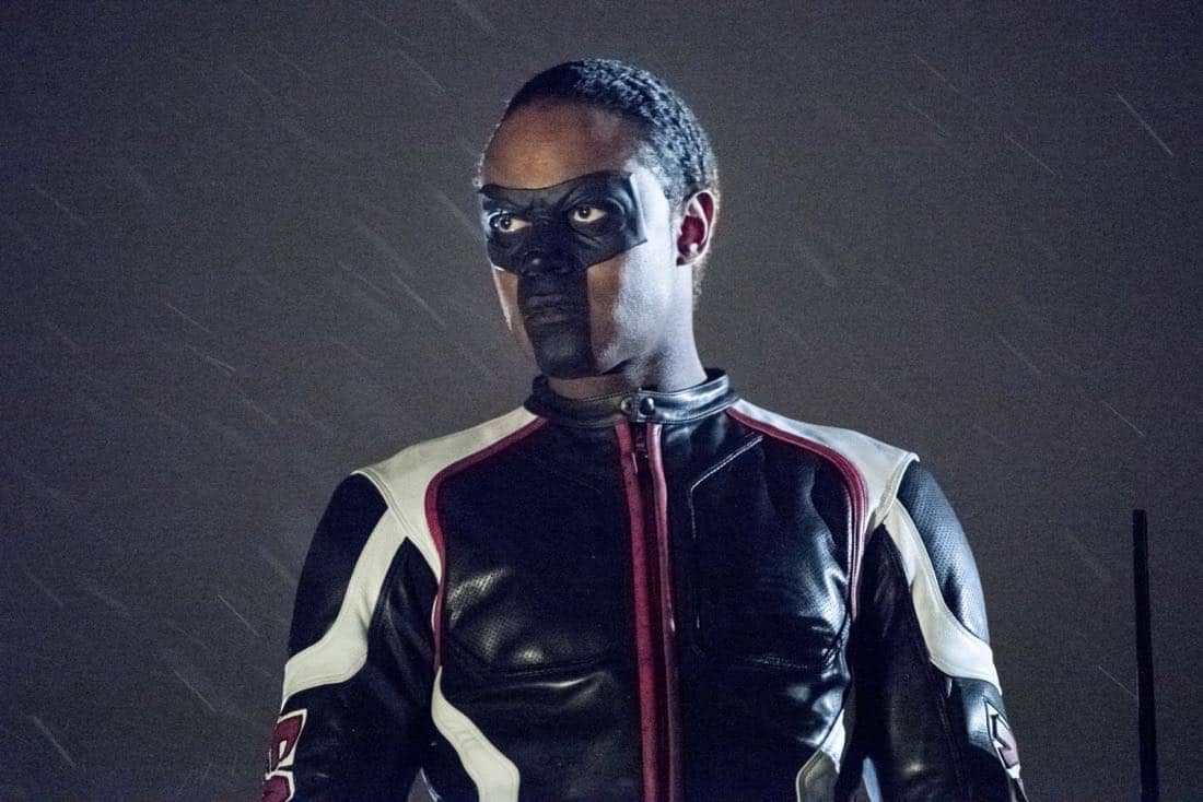 "Arrow -- ""We Fall"" -- Image Number: AR611a_0207.jpg -- Pictured: Echo Kellum as Curtis Holt/Mr. Terrific -- Photo: Dean Buscher/The CW -- © 2018 The CW Network, LLC. All Rights Reserved."
