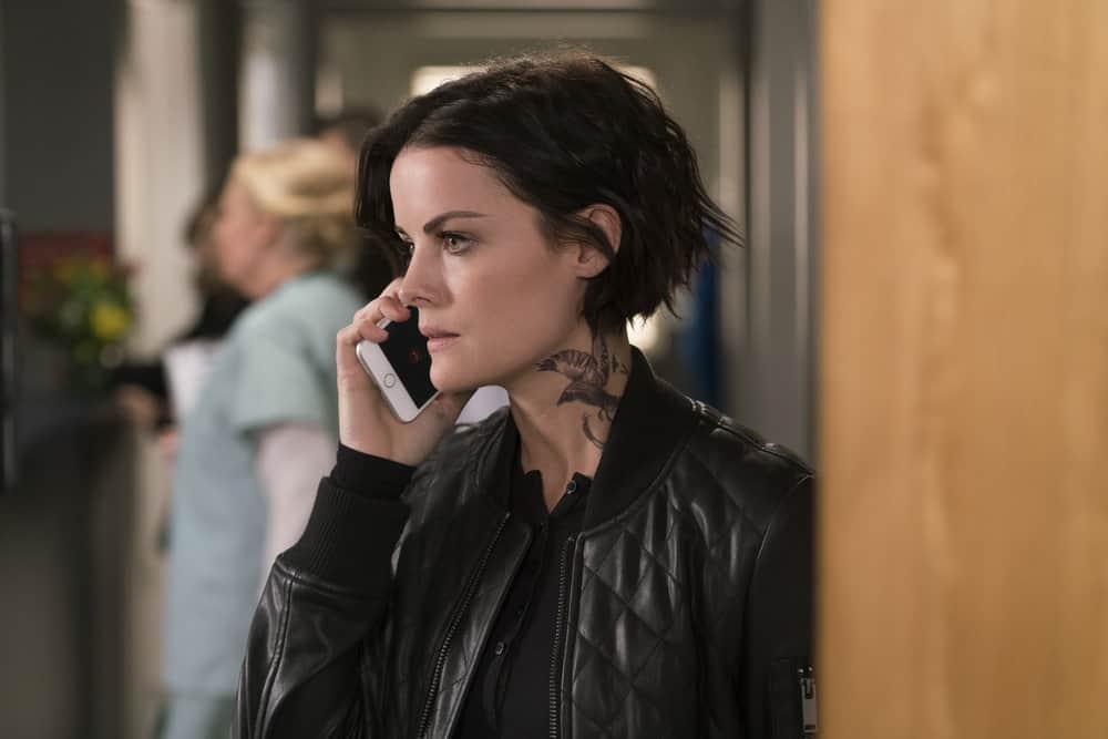 "BLINDSPOT -- ""Technology Wizards"" Episode 311 -- Pictured: Jaimie Alexander as Jane Doe -- (Photo by: Barbara Nitke/NBC)"