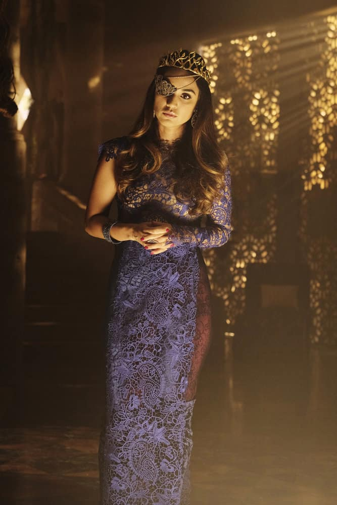 "THE MAGICIANS -- ""The Losses of Magic"" Episode 303 -- Pictured: Summer Bishil as Margo Hanson -- (Photo by: Eike Schroter/Syfy)"