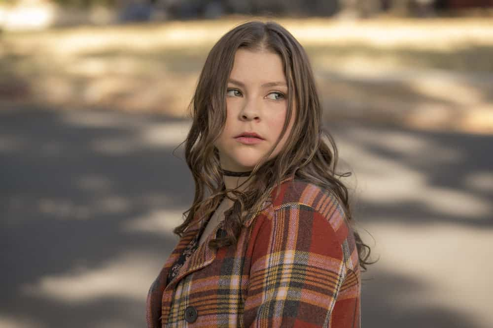 """THIS IS US -- """"That'll Be The Day"""" Episode 213 -- Pictured: Hannah Zeile as Kate -- (Photo by: Ron Batzdorff/NBC)"""