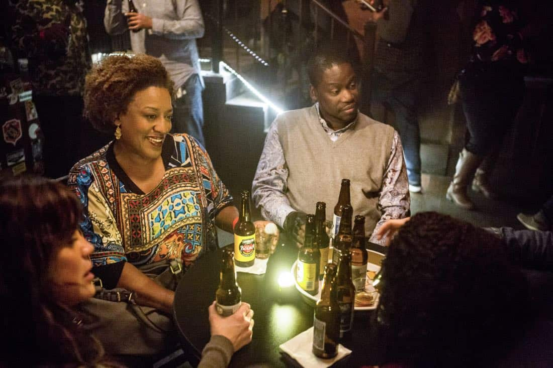 """Ties That Bind"" -- A petty officer's murder leads the team to a family-owned night club where Pride's mother used to perform weekly. Also, Lasalle must urgently return home to Alabama after receiving an unexpected call from his family, on NCIS: NEW ORLEANS, Tuesday, Jan. 23 (10:00-11:00 PM, ET/PT) on the CBS Television Network. Pictured L-R: Vanessa Ferlito as FBI Special Agent Tammy Gregorio, CCH Pounder as Dr. Loretta Wade, and Daryl Chill Mitchell as Patton Plame Photo: Skip Bolen/CBS ©2017 CBS Broadcasting, Inc. All Rights Reserved"