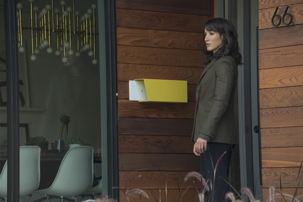 "TAKEN -- ""Hammurabi"" Episode 203 -- Pictured: Jennifer Beals as Christina Hart -- (Photo by: Panagiotis Pantazidis/NBC)"