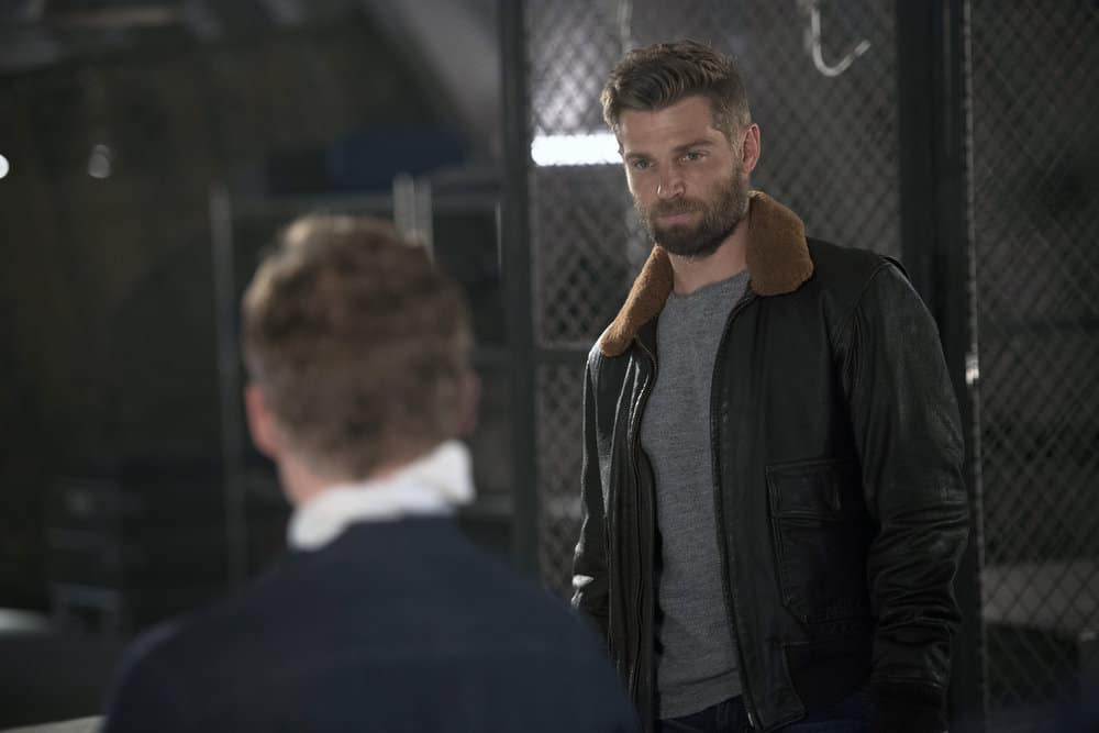 "THE BRAVE -- ""Close to Home: Part 2"" Episode 113 -- Pictured: Mike Vogel as Captain Adam Dalton -- (Photo by: Lewis Jacobs/NBC)"