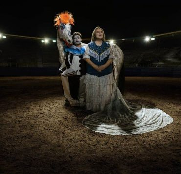 BASKETS -- Pictured: (l-r) Zach Galifianakis as Chip Baskets, Louie Anderson as Christine Baskets. CR: Matthias Clamer/FX