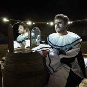 BASKETS -- Pictured: Zach Galifianakis as Chip Baskets, Louie Anderson as Christine Baskets. CR: Matthias Clamer/FX