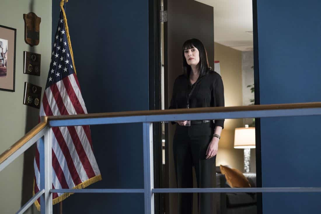 """Miasma"" -- The BAU is called when the New Orleans P.D. discovers a mass grave inside a vandalized above-ground crypt in a local cemetery, on CRIMINAL MINDS, Wednesday, Jan. 31 (10:00-11:00 PM, ET/PT) on the CBS Television Network.  Pictured: Paget Brewster (Emily Prentiss)   Photo: Cliff Lipson/CBS ©2017 CBS Broadcasting, Inc. All Rights Reserved"