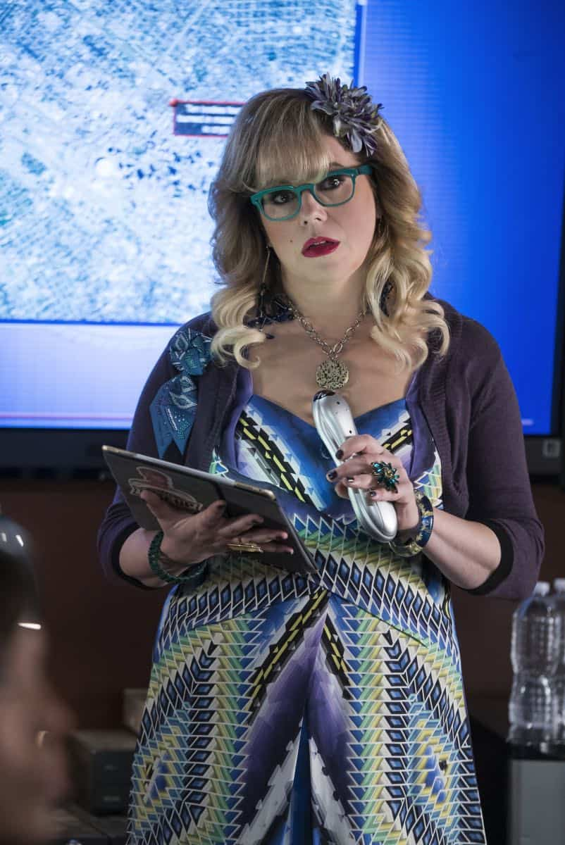 """Miasma"" -- The BAU is called when the New Orleans P.D. discovers a mass grave inside a vandalized above-ground crypt in a local cemetery, on CRIMINAL MINDS, Wednesday, Jan. 31 (10:00-11:00 PM, ET/PT) on the CBS Television Network.  Pictured: Kirsten Vangsness (Penelope Garcia)   Photo: Cliff Lipson/CBS ©2017 CBS Broadcasting, Inc. All Rights Reserved"