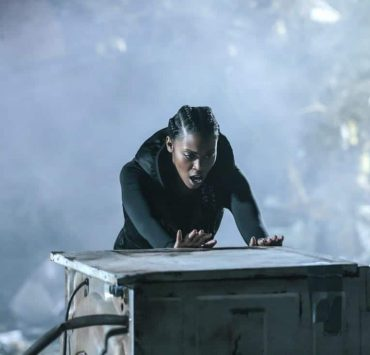 """Black Lightning -- """"LaWanda: The Book of Burial"""" -- Image BLK103a_0162.jpg -- Pictured: Nafessa Williams as Anissa Pierce -- Photo: Carin Baer/The CW -- © 2018 The CW Network, LLC. All rights reserved."""