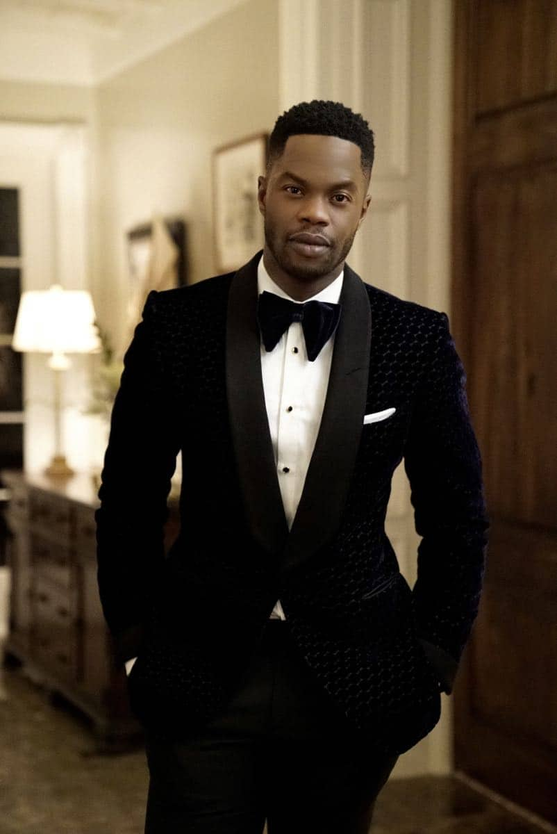 "Dynasty -- ""Promises You Can't Keep"" -- Image Number: DYN112a_0585b.jpg -- Pictured: Sam Adegoke as Jeff -- Photo: Jace Downs/The CW -- © 2018 The CW Network, LLC. All Rights Reserved.Dynasty -- ""Promises You Can't Keep"" -- Image Number: DYN112a_0585b.jpg -- Pictured: Sam Adegoke as Jeff -- Photo: Jace Downs/The CW -- © 2018 The CW Network, LLC. All Rights Reserved."