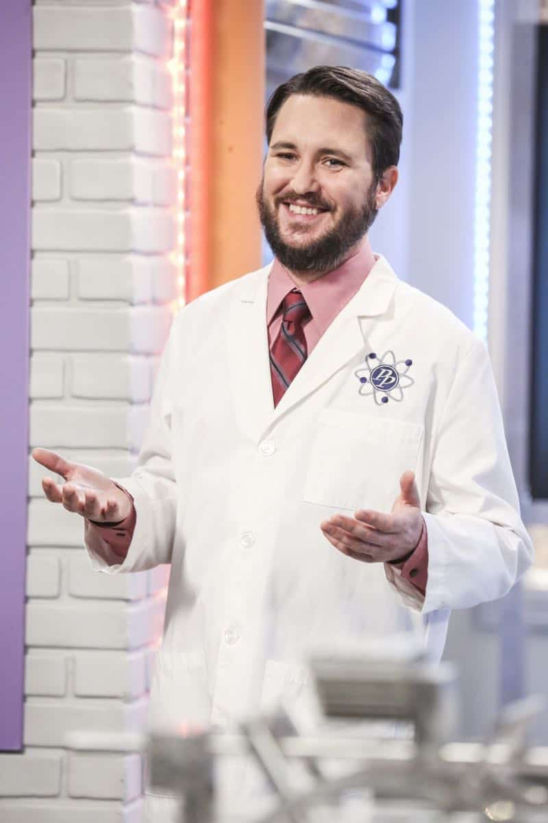 """The Novelization Correlation"" -- Pictured: Will Wheaton (himself). When Sheldon petitions Wil Wheaton to appear on the new Professor Proton show, Wil offers a role to Amy instead.  Also, Penny gets angry when she thinks the female protagonist in Leonard's novel is based on her, on THE BIG BANG THEORY, Thursday, Feb. 1 (8:00-8:31 PM, ET/PT), on the CBS Television Network.   Christine Baranski and Wil Wheaton return to guest star. Photo: Michael Yarish/Warner Bros. Entertainment Inc. © 2018 WBEI. All rights reserved."