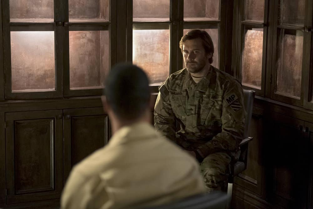 "TAKEN -- ""OPSEC"" Episode 204-- Pictured: Clive Standen as Bryan Mills -- (Photo by Panagiotis Pantazidis/NBC)"