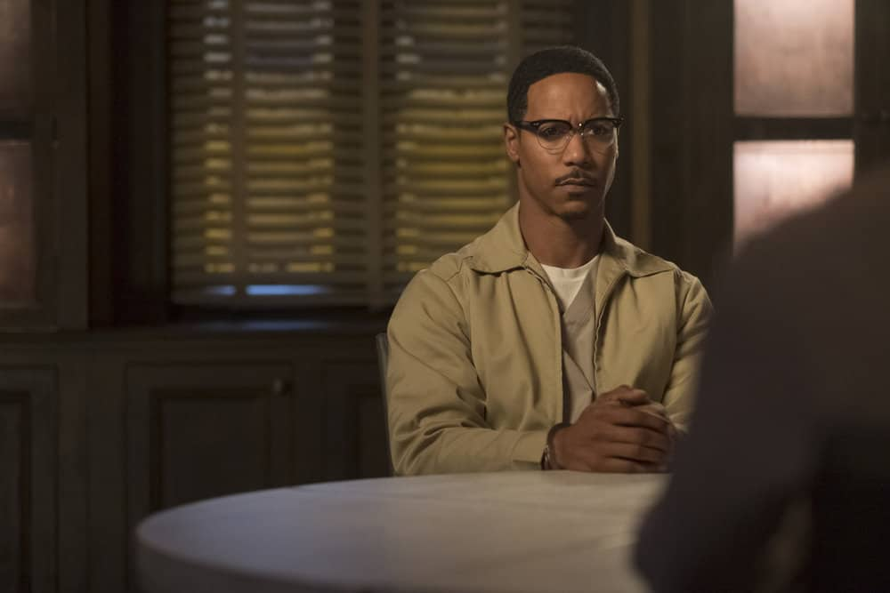"TAKEN -- ""OPSEC"" Episode 204 -- Pictured: Brian White as Julius Vox -- (Photo by Panagiotis Pantazidis/NBC)"