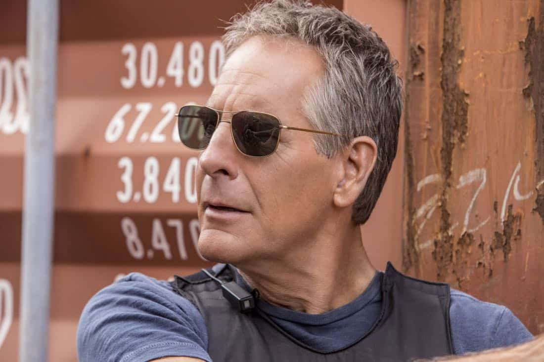 """""""Monster"""" -- After a deadly armed robbery and high-speed chase is connected to an undercover ATF operation, Percy reconnects with her former ATF partner, Jake Roman (L. Steven Taylor), on NCIS: NEW ORLEANS, Tuesday, Jan. 2 (10:00-11:00 PM, ET/PT) on the CBS Television Network. Pictured: Scott Bakula as Special Agent Dwayne Pride Photo: Skip Bolen/CBS ©2017 CBS Broadcasting, Inc. All Rights Reserved"""