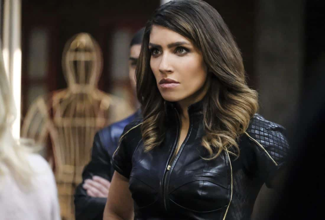 "Arrow -- ""All for Nothing"" -- Image Number: AR612a_.jpg -- Pictured: Juliana Harkavy as Dinah Drake/Black Canary -- Photo: Bettina Strauss/The CW -- © 2018 The CW Network, LLC. All rights Reserved."